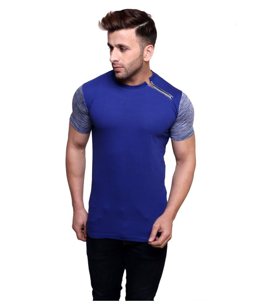 Rakshita's Collection Blue Round T-Shirt