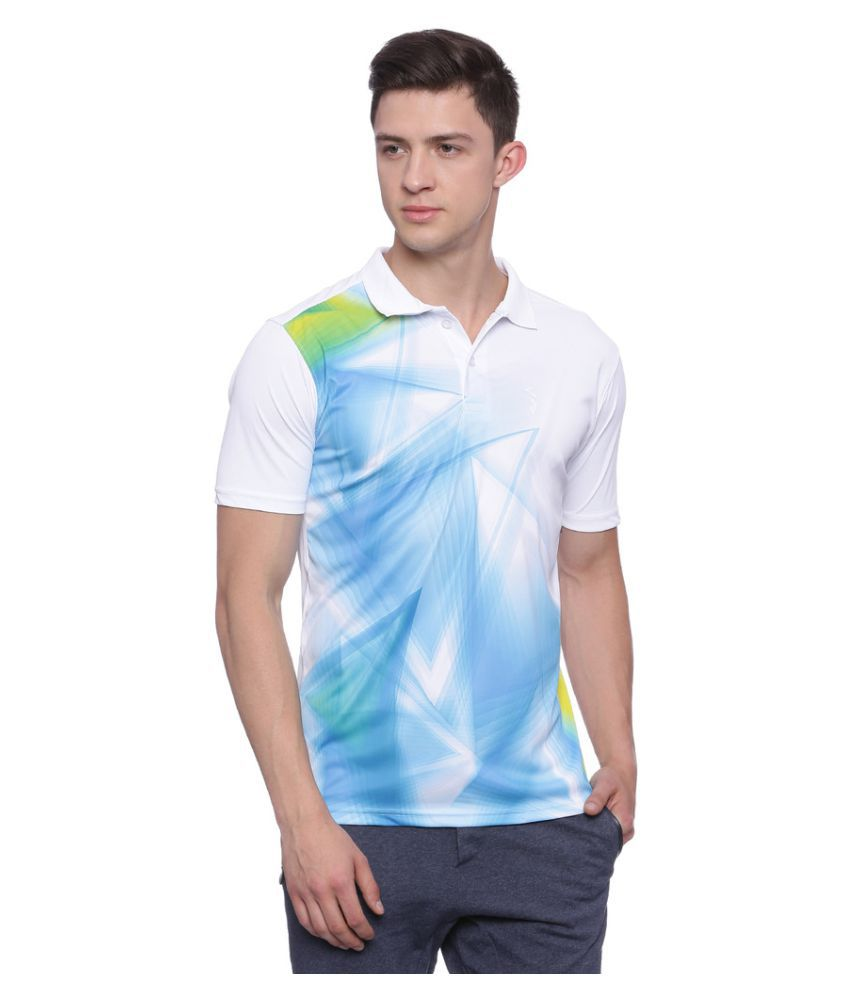 Campus Sutra Multi Polyester Polo T-Shirt Single Pack