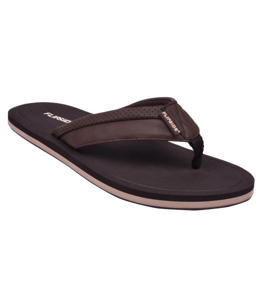 Flipside Classic Brown Daily Slippers