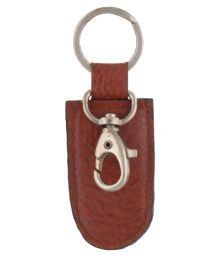 Leatherman Brown Keychain