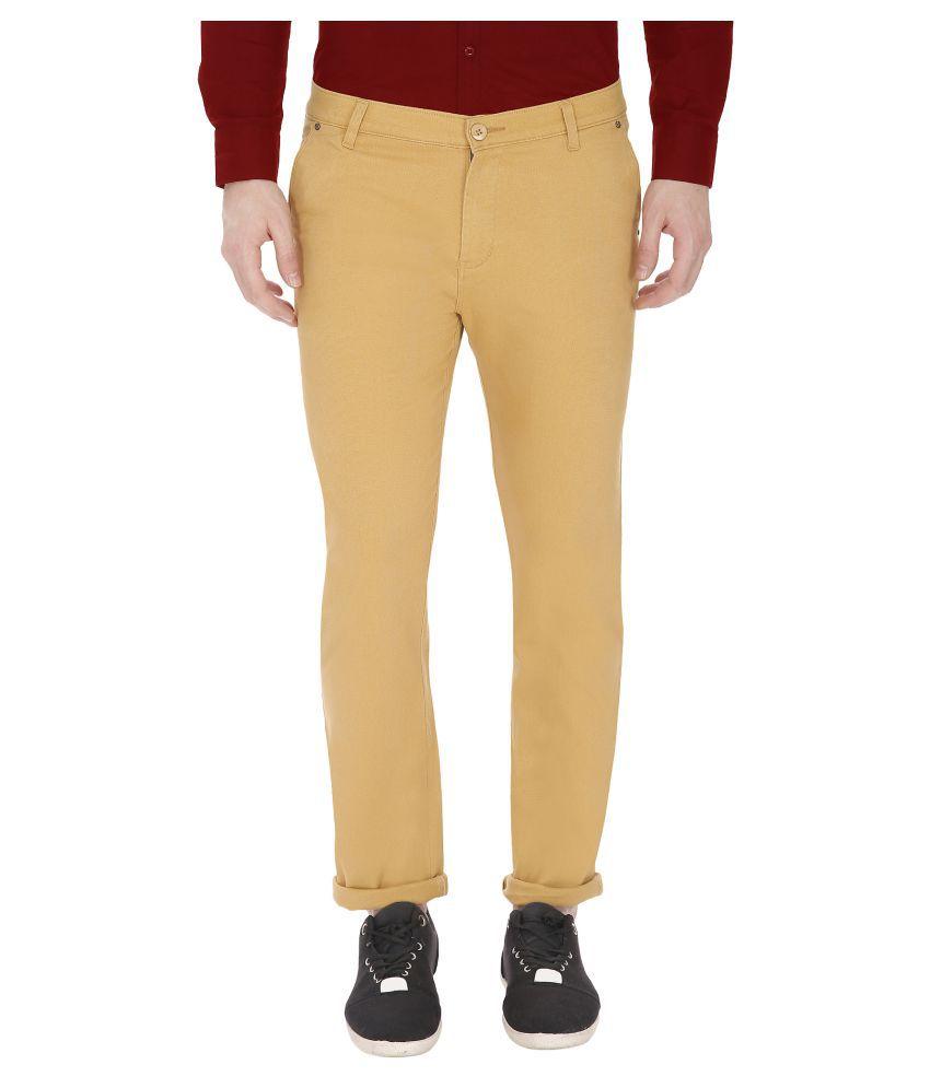 Gradely Beige Slim Jeans