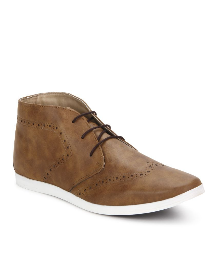 Knotty Derby Brown Casual Boot