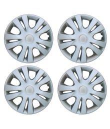 Mexuss Silver 14 Car Wheel Covers 4 Pcs Wheel Cover