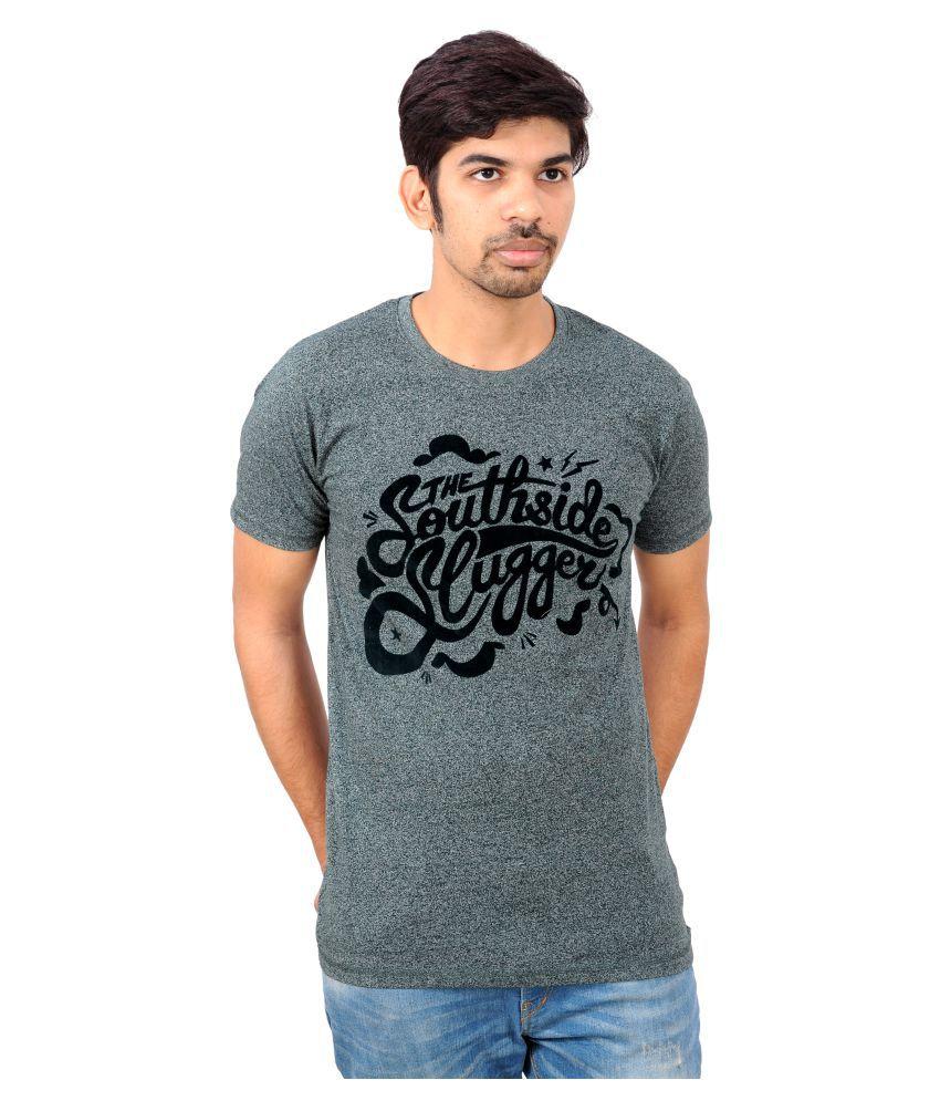 Rayon Grey Round T-Shirt