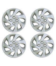 Mexuss Silver 14 Car Wheel Covers 4 Pcs