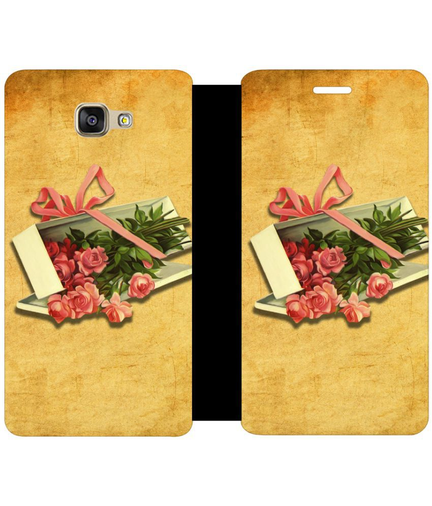 Samsung Galaxy A5 2016 Flip Cover by Skintice - Brown