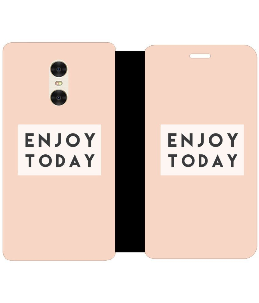 Xiaomi Redmi Pro Flip Cover by Skintice - Pink