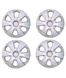 Mexuss Silver 14 Car Wheel Covers 4 Pieces