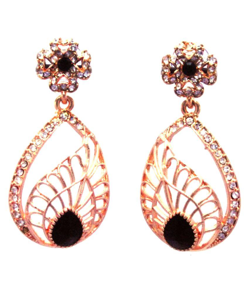 JCM Rose Gold Hanging Earrings