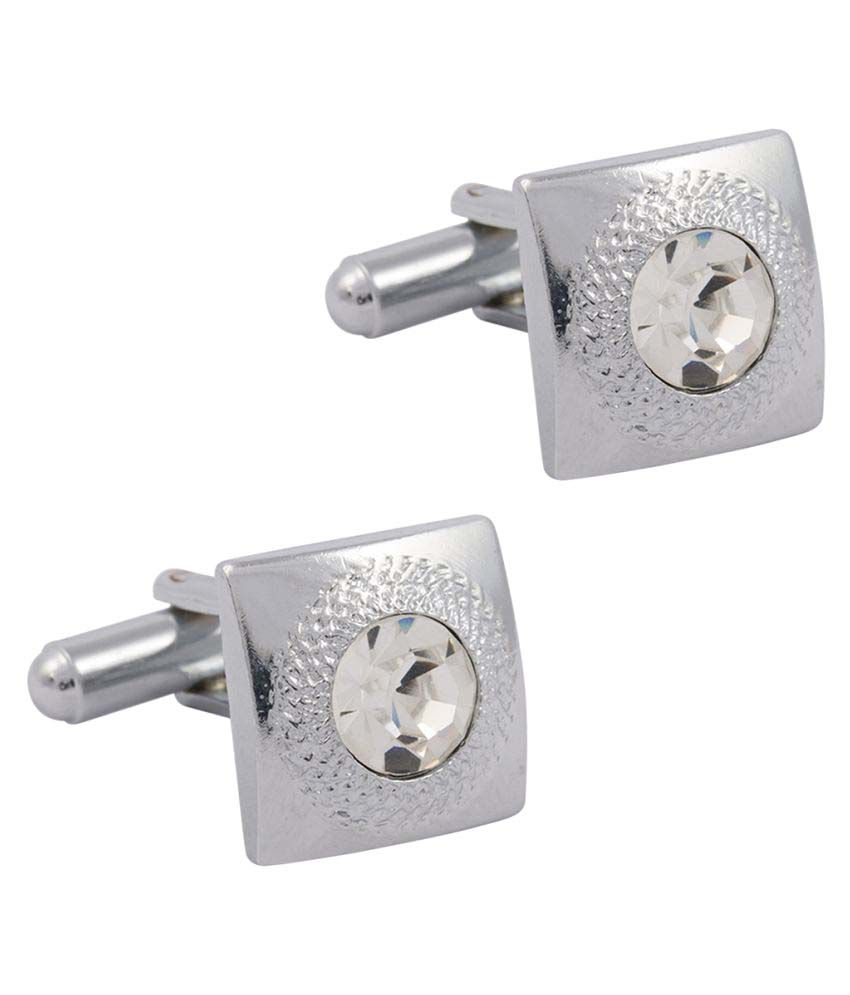 Paranoid Silver Alloy Cufflinks