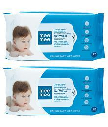 Mee Mee Caring Baby Wet Wipes Aloe Vera Pack of 2