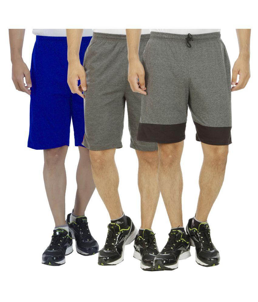 Hardys Collection Multi Shorts Set of 3