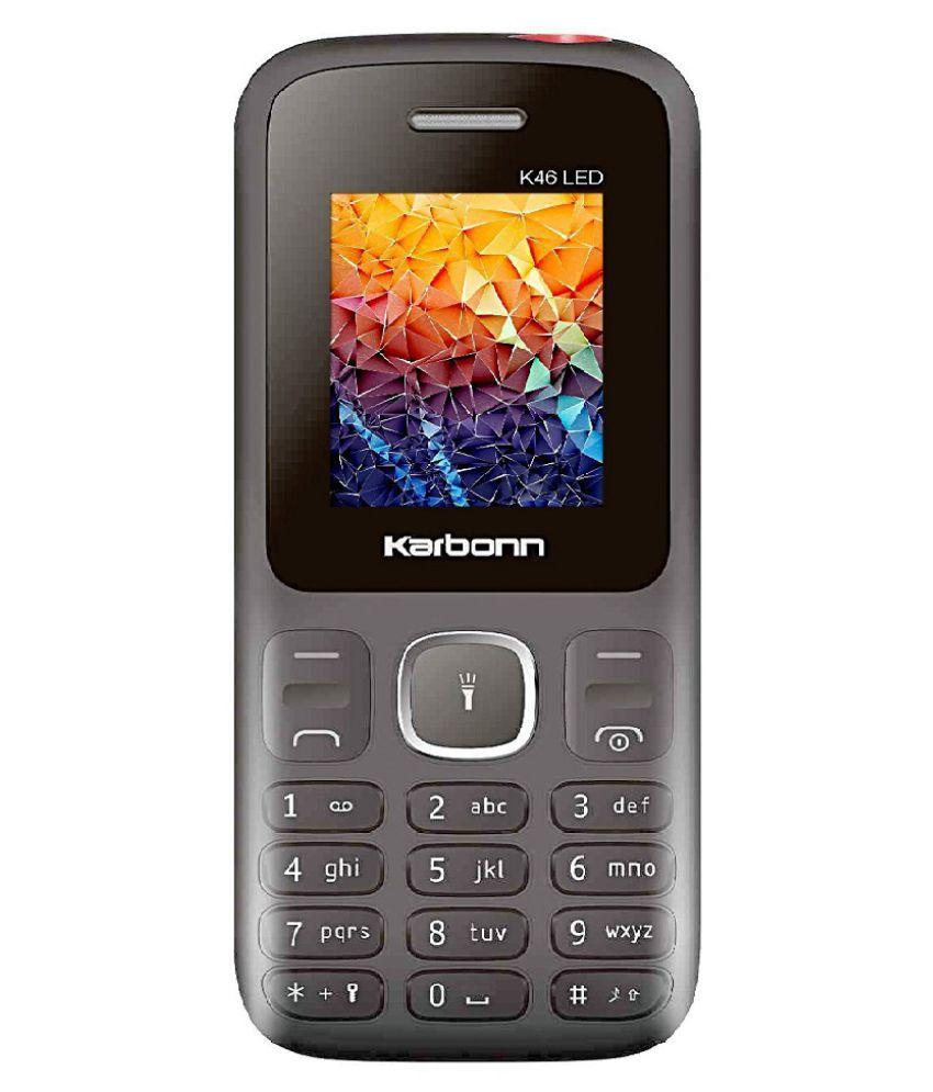 Karbonn k 46 led 128 MB Black