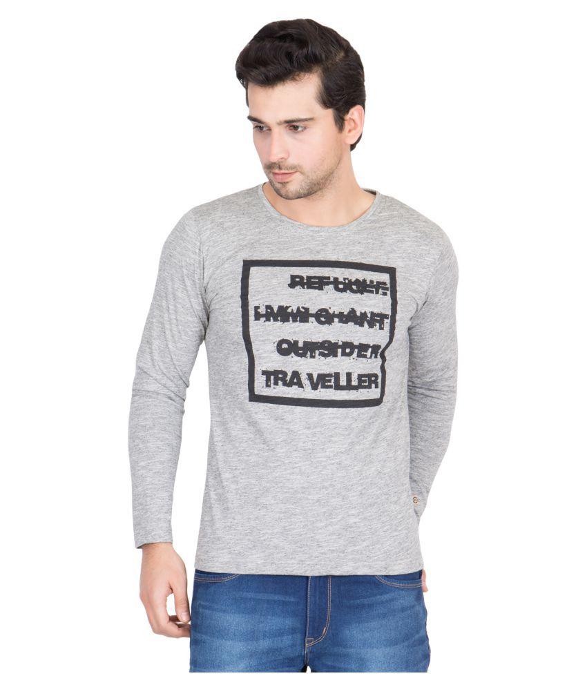 Pause Grey Round T-Shirt