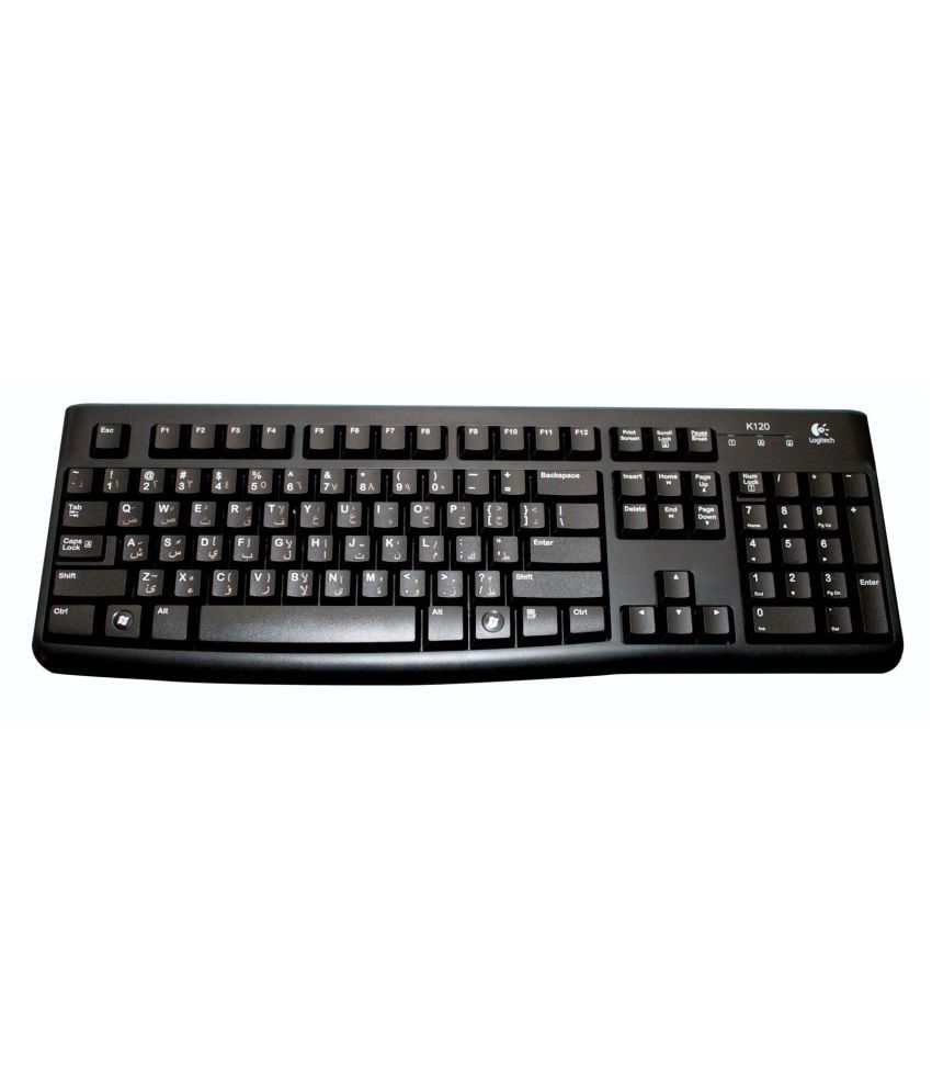 b3e68ebdf78 Logitech K120 Black USB Wired Desktop Keyboard - Buy Logitech K120 Black USB  Wired Desktop Keyboard Online at Low Price in India - Snapdeal