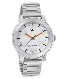 Fastrack White Dial Watch for Men 3121SM01