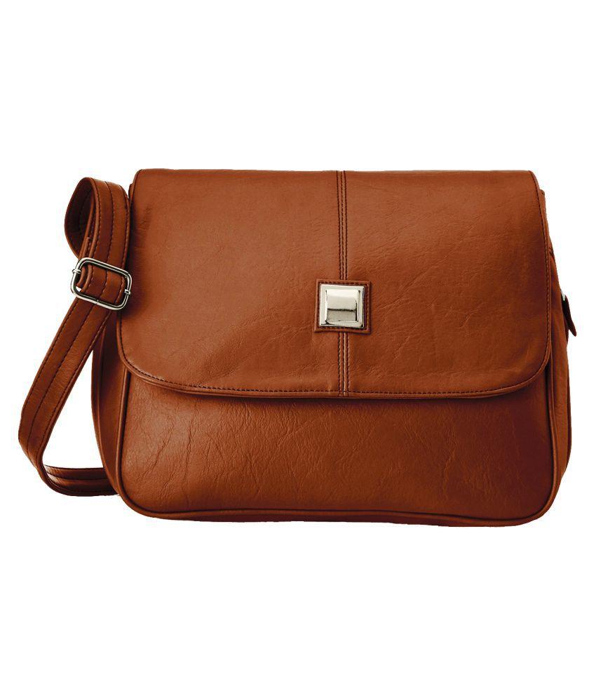 28eee505002 Fristo Brown Sling Bag
