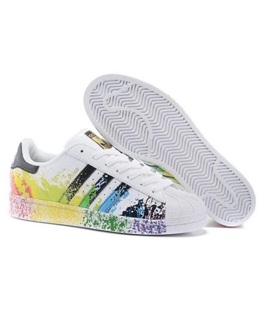 ... Adidas Superstar Splash Sneakers Multi Color Casual Shoes ...