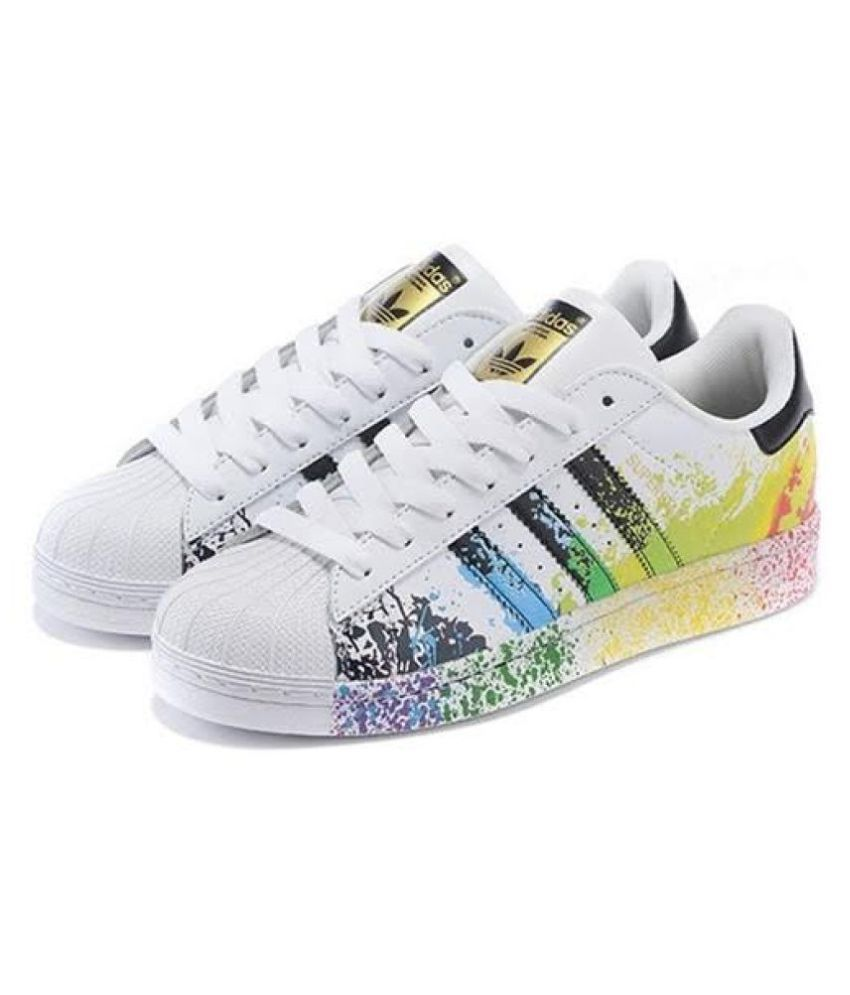 Adidas Superstar Splash Sneakers Multi Color Casual Shoes ...