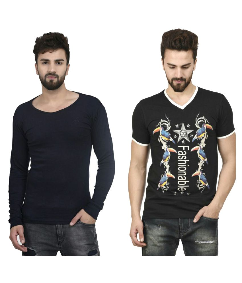 MSG Multi Round T-Shirt Pack of 2
