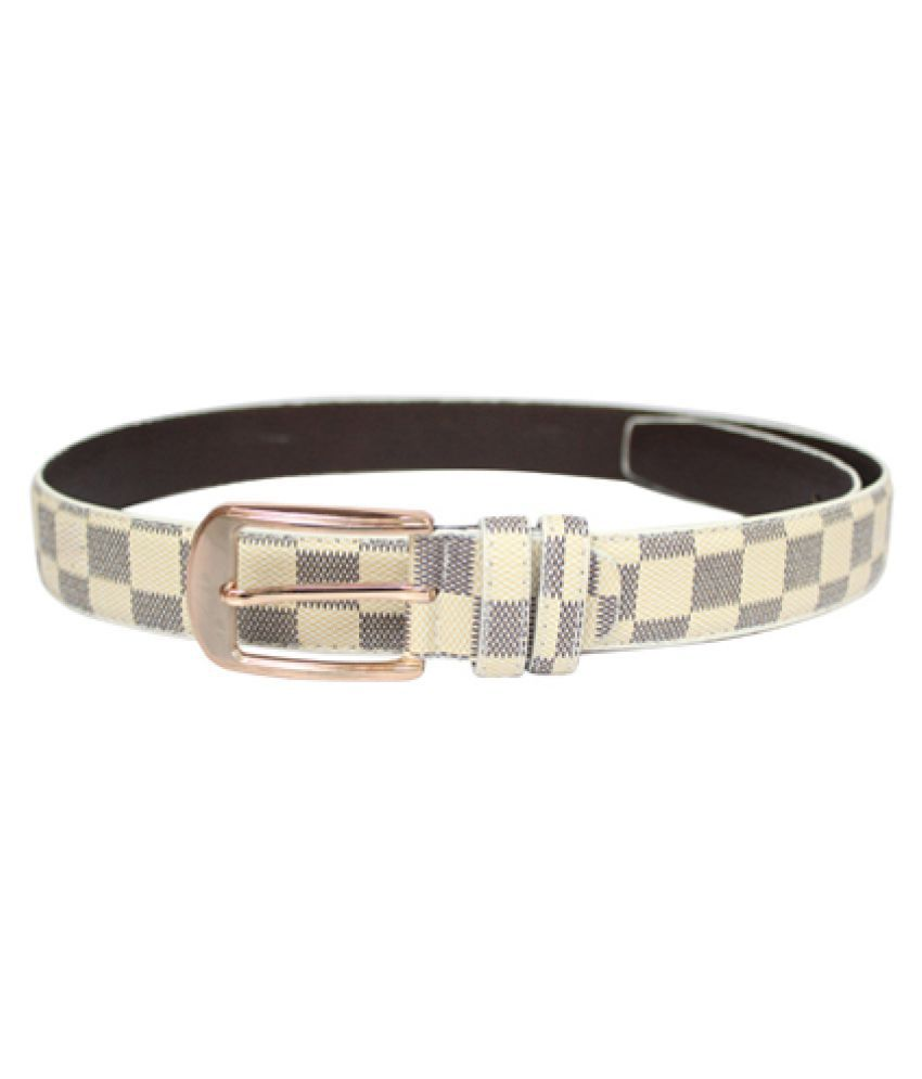 Fomti Multi Faux Leather Casual Belts