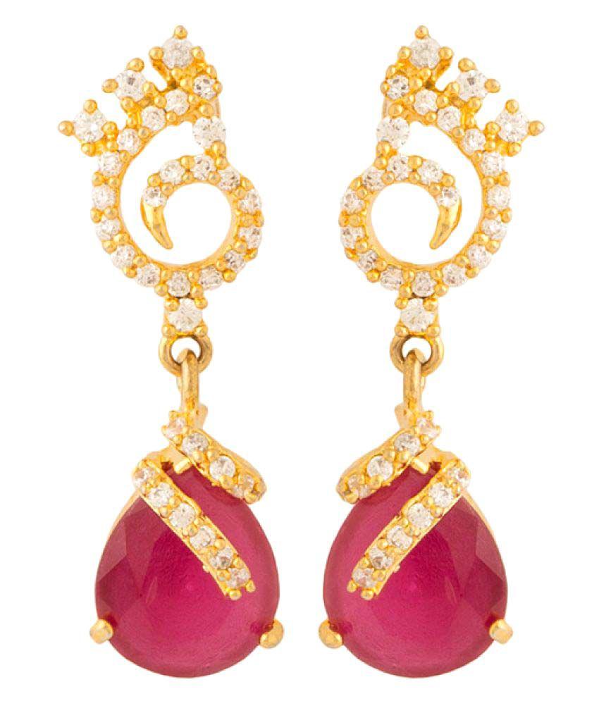 Navrang Multicolor Drop Earrings