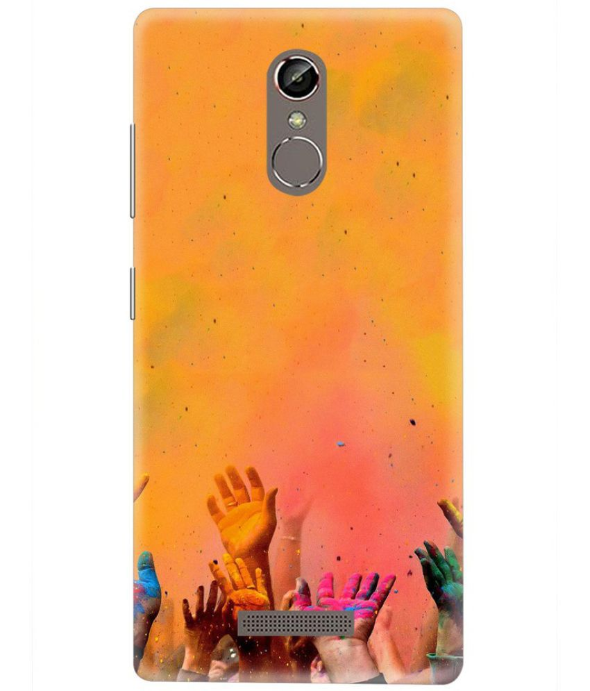 Gionee S6s Printed Cover By Knotyy