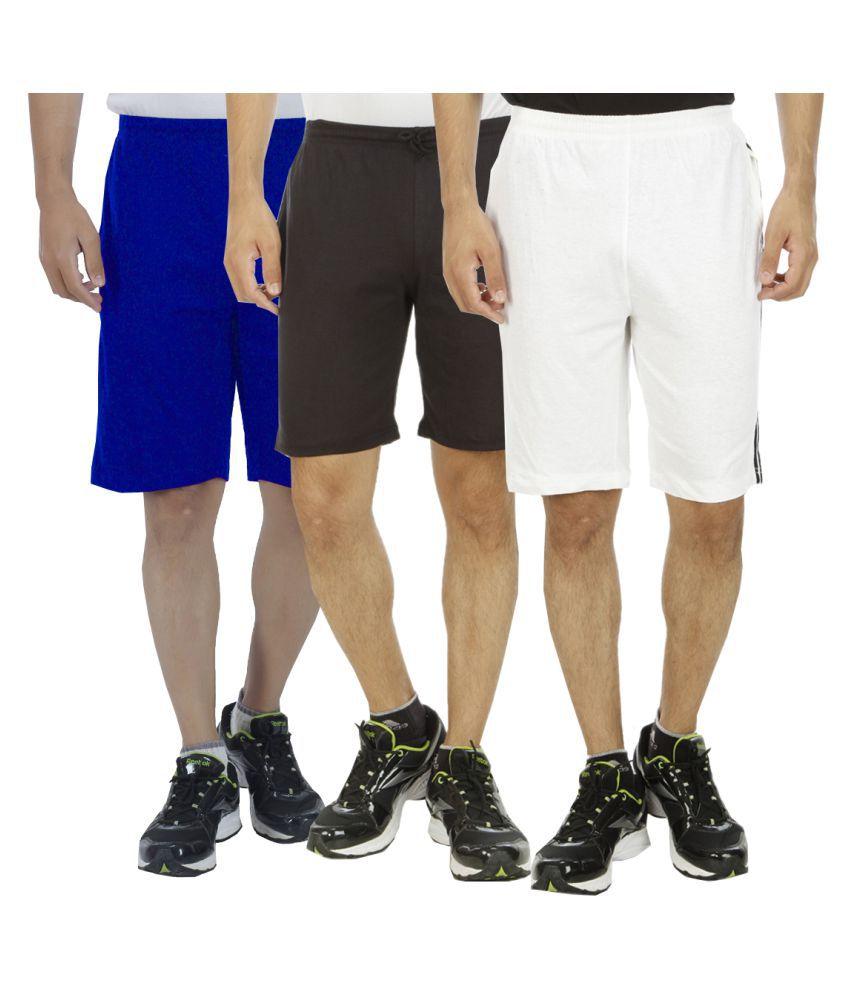 Kritika's World Multi Shorts Pack of 3