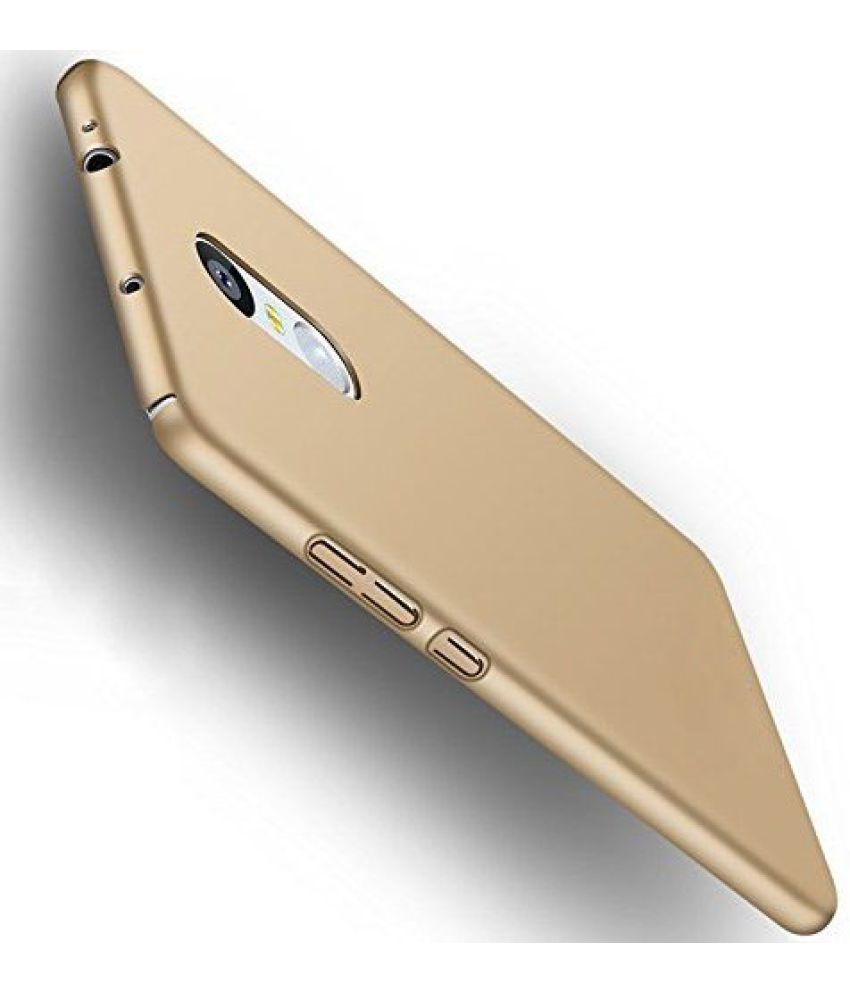 Xiaomi Redmi Note 4 Plain Cases KTC - Golden
