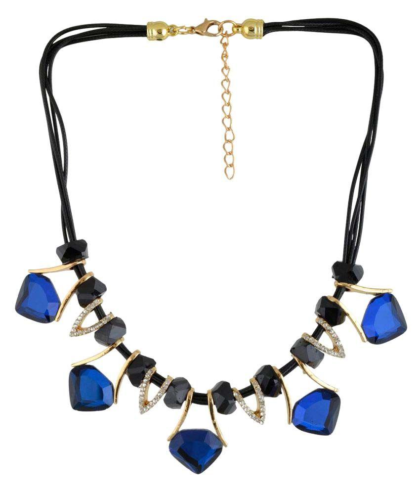 Jewel Treasure Lynae Cubiz Zirconia Alloy Necklace