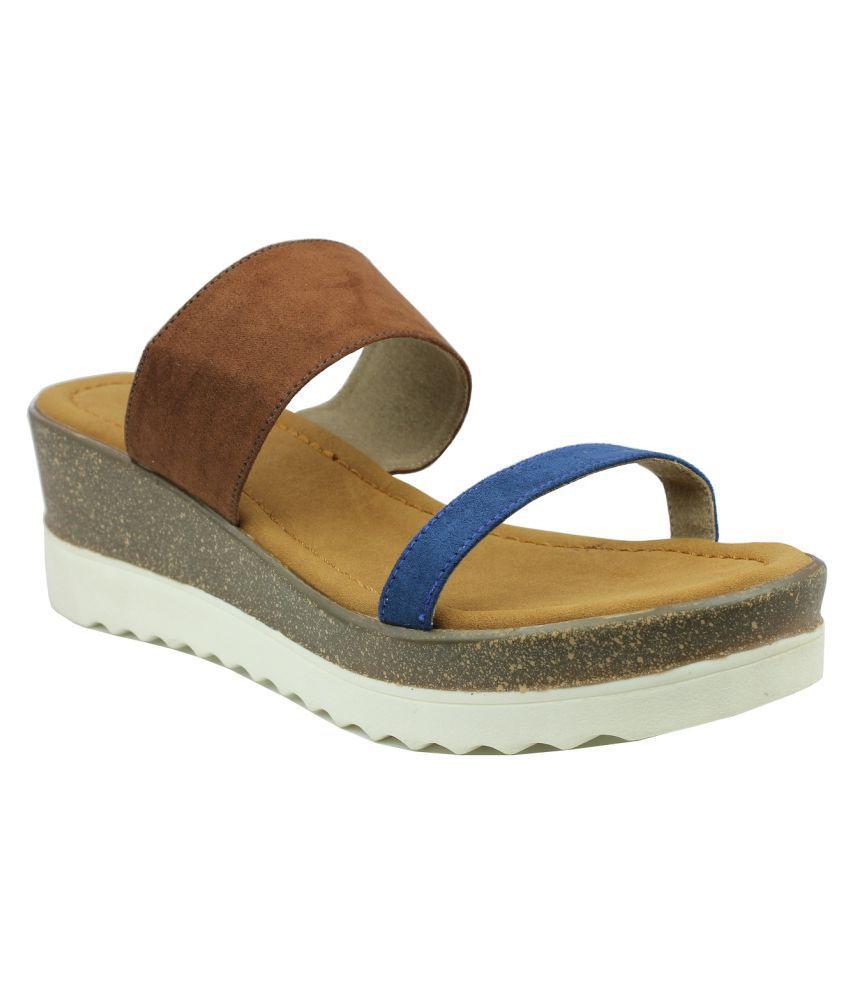 INC.5 Multi Color Wedges Heels