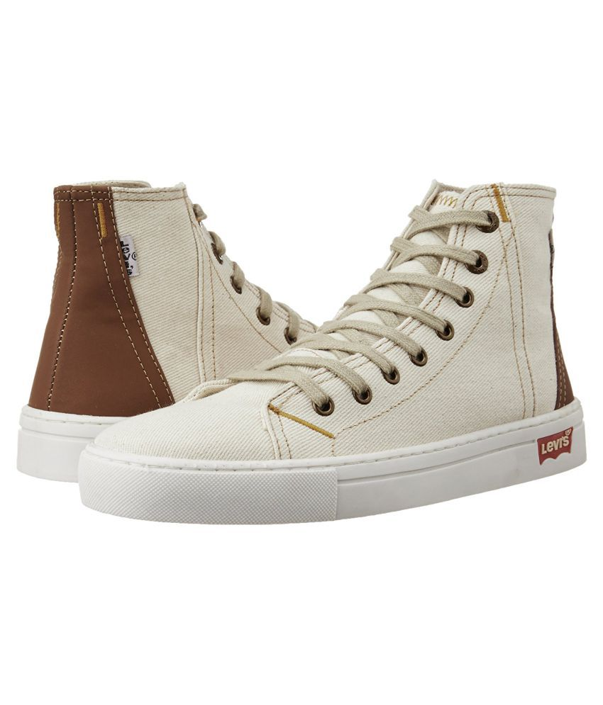 Levi's White Casual Shoes - Buy Levi's