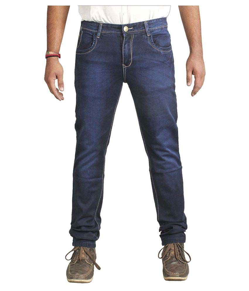 Ragzo Dark Blue Slim Jeans
