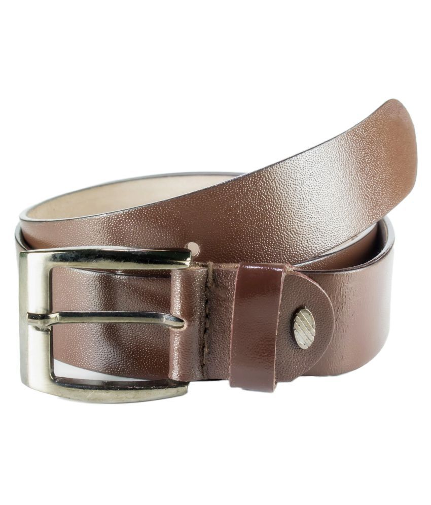 Garodia Leathercraft Brown Leather Formal Belts