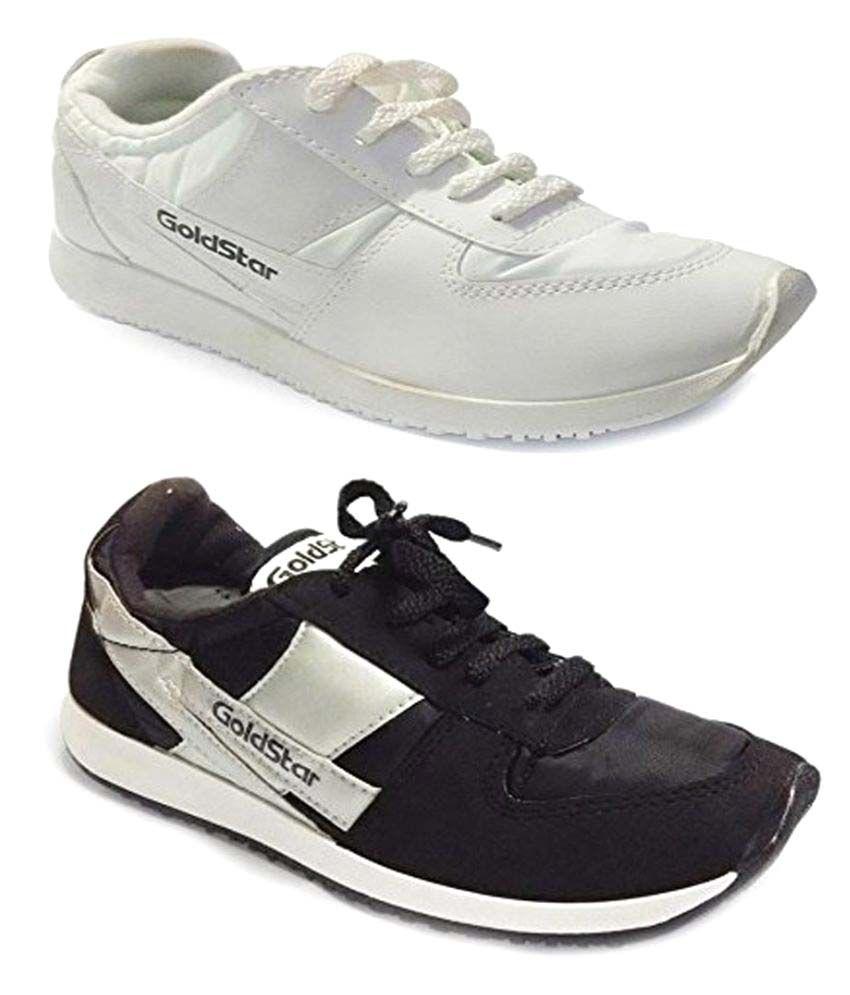 Goldstar Multi Color Sports Shoe Combo