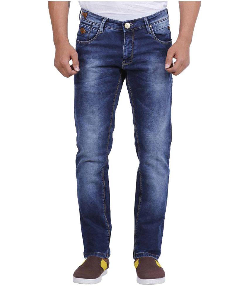 Rick Rogue Dark Blue Slim Jeans
