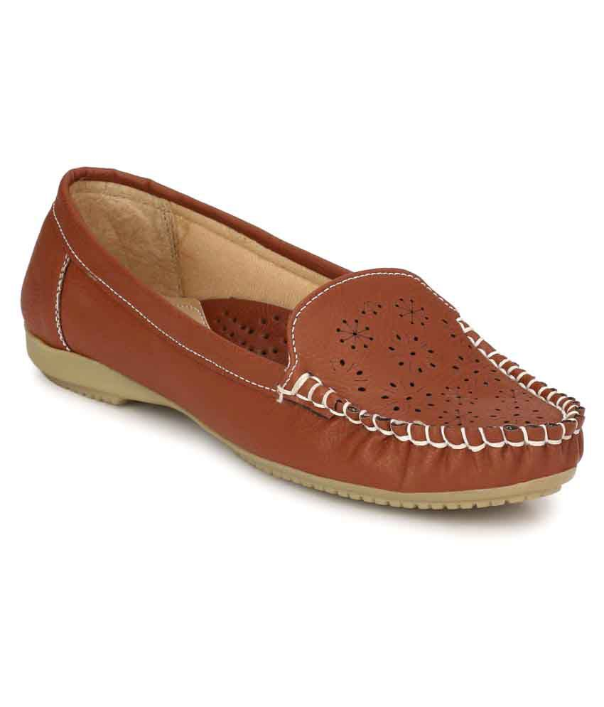 Miss Irri London Brown Casual Shoes