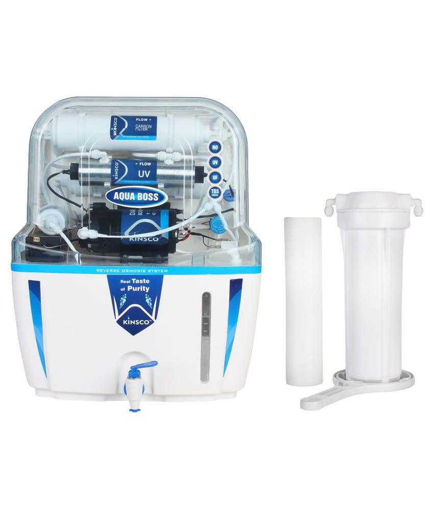 Kinsco Aqua Boss 15 Ltr ROUVUF Water Purifier Price in India - Buy ...