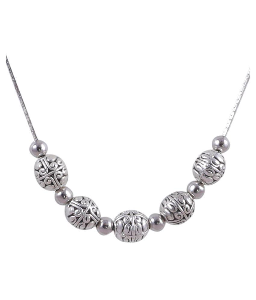 Tibetan Silver Necklace for Women