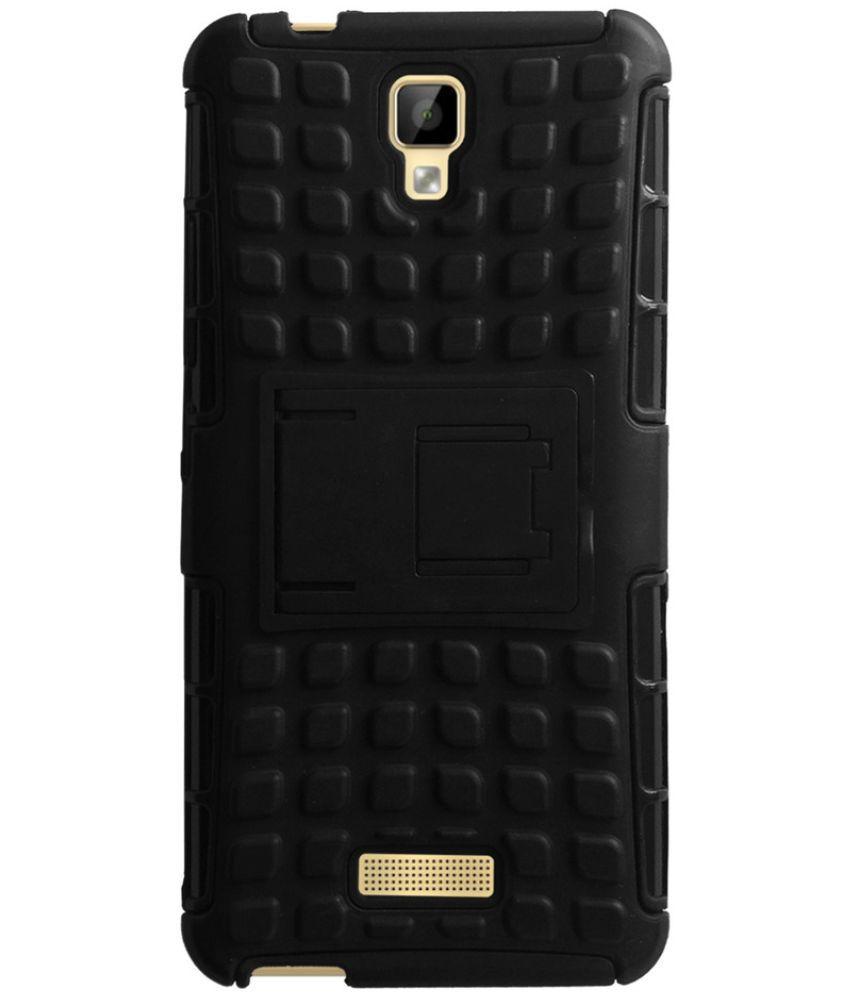 quality design 8ec4d c78e8 Gionee P7 Max Shock Proof Case Acm - Black