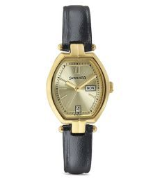 Sonata Black 8083yl03 Analog Watch For Women