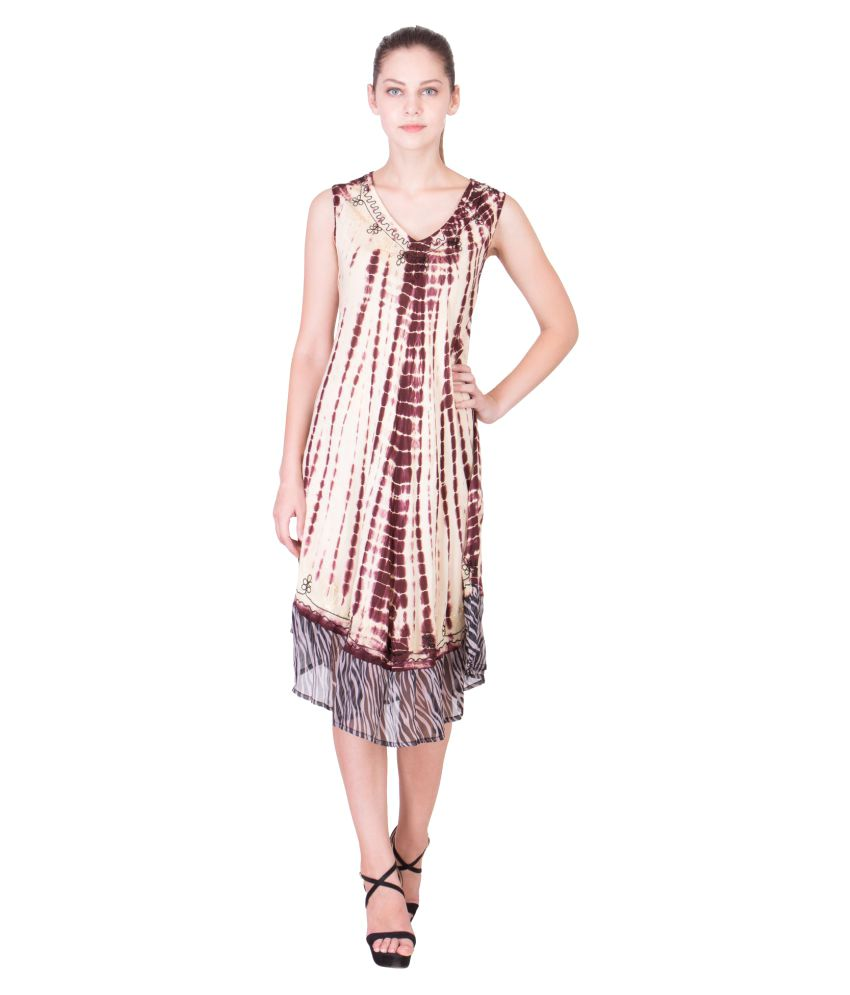 7ecb044b4ca0 Buy American-Elm Chiffon Beach Dresses Online at Best Prices in India -  Snapdeal