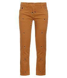 UFO Orange Jeans