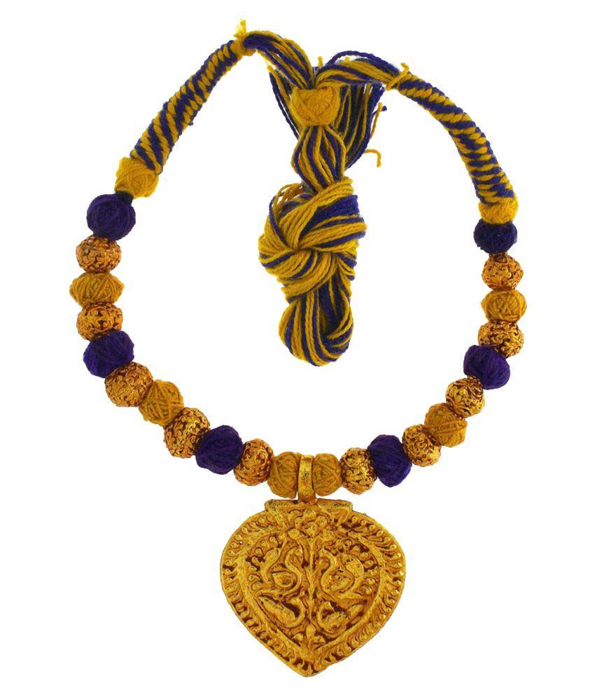 Anuradha Art Multicolour Necklace for Women