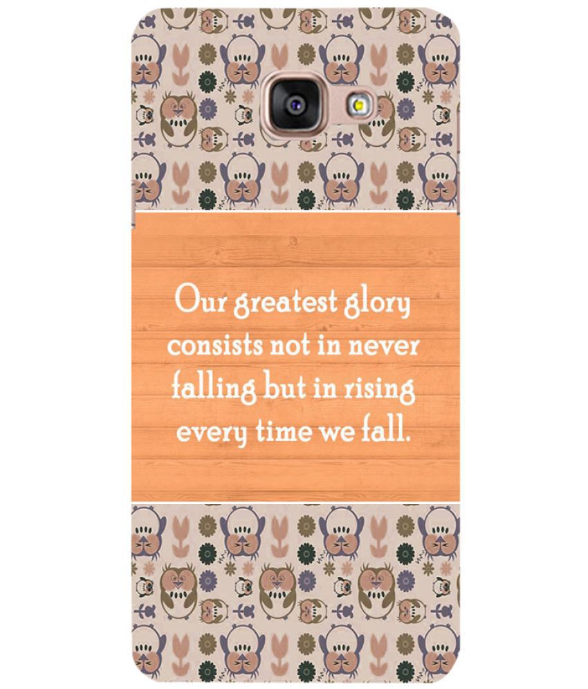 Samsung Galaxy A7 2016 Printed Cover By PRINTSWAG