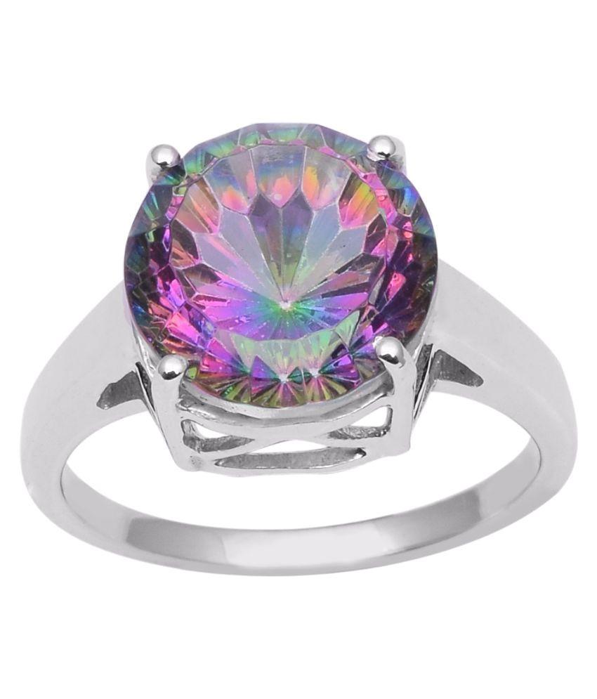 Shine Jewel 92.5 Silver Topaz Ring