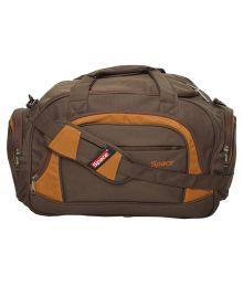 Space Brown Solid Duffle Bag