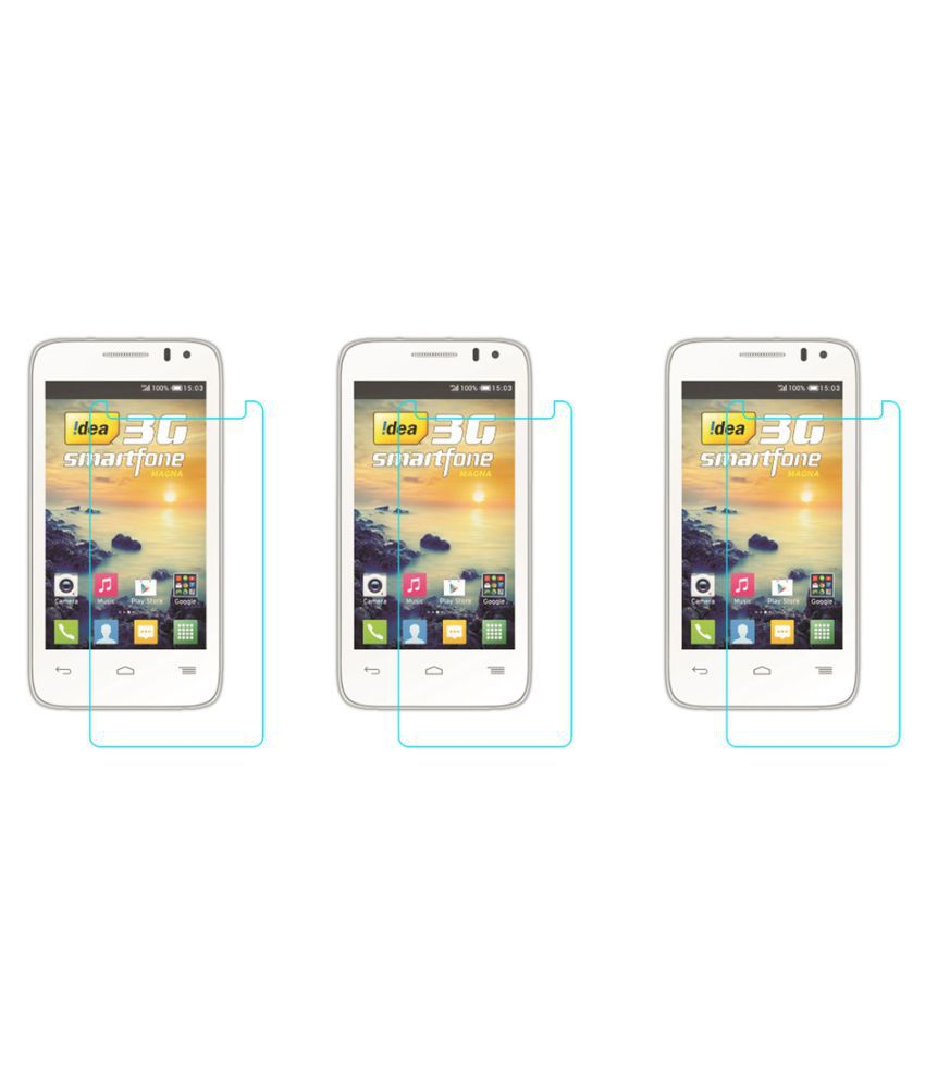 Idea Magna 3g Tempered Glass Screen Guard By Acm