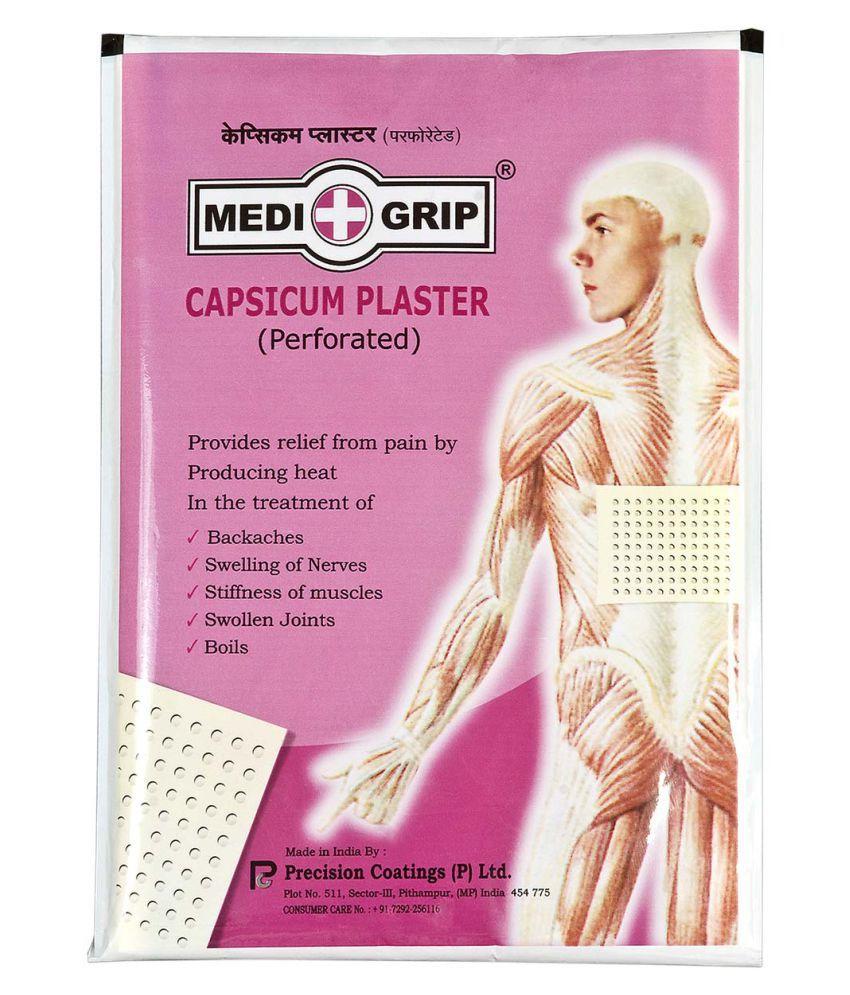 Medigrip Capsicum Plaster Regular Cotton