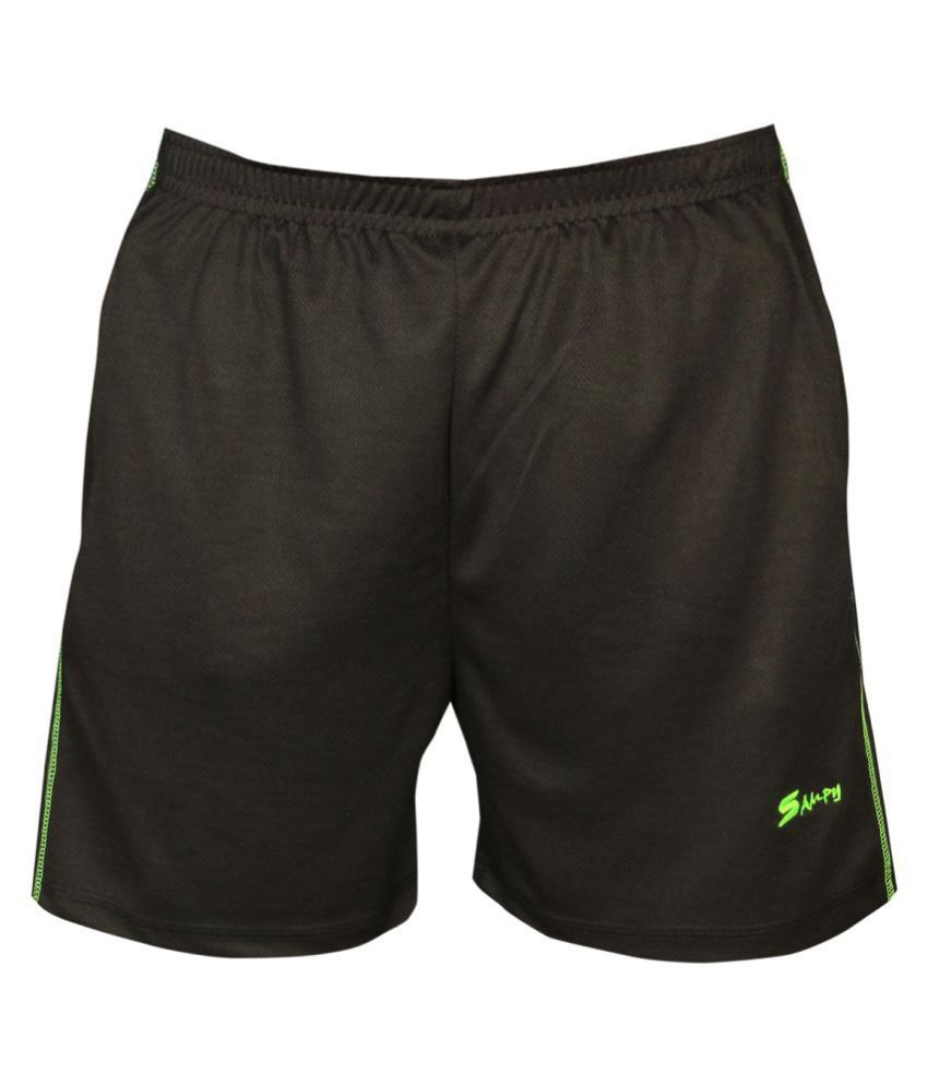 Sampy True Black Shorts